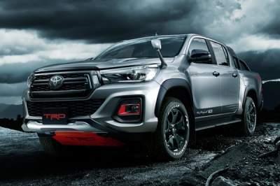 Toyota разработала специальную модификацию модели Hilux