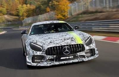 В Сети показали заряженный Mercedes-AMG GT
