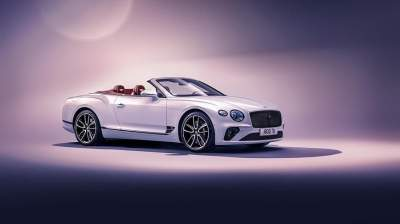 Bentley презентовала обновленный Continental GT Convertible