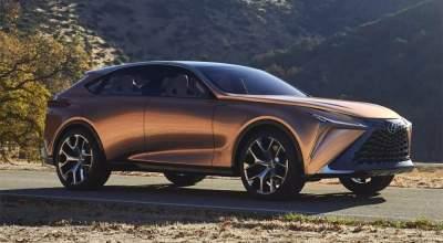 Lexus анонсировал выпуск долгожданного кроссовера