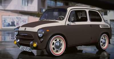 Запорожец, Smart и Fiat объединили в одном кузове