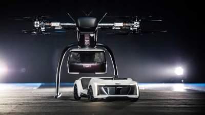 Audi протестировала беспилотное летающее такси