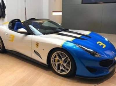 Ferrari показала суперкар, созданный в единственном экземпляре