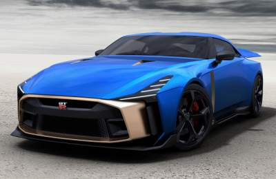 Nissan запустил в серию уникальный суперкар
