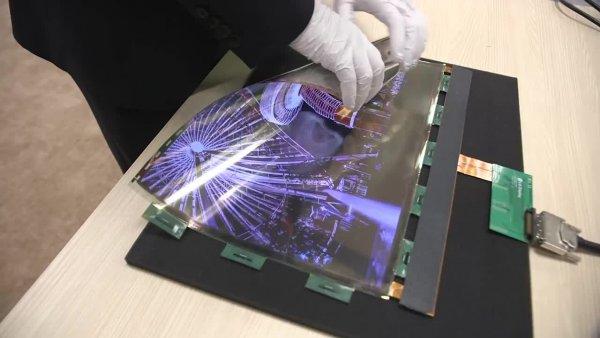 LG планирует продавать гибкие телевизоры уже в 2019