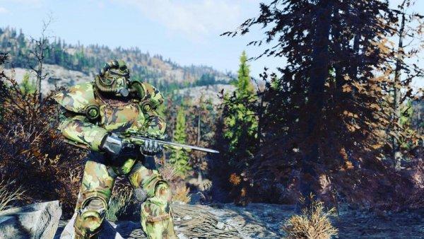 Геймер назвал себя эндгейм-боссом в Fallout 76