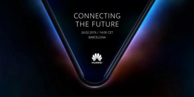 Huawei готовит презентацию складного смартфона