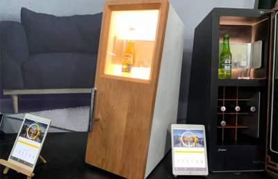 Японцы создали холодильник, в котором никогда не заканчивается пиво