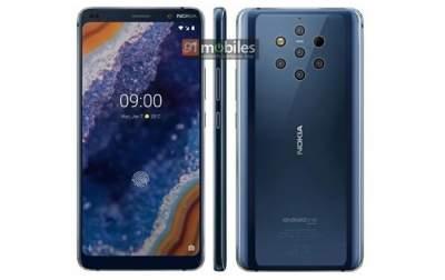 Появились новые рекламные изображения Nokia 9 c пятью камерами