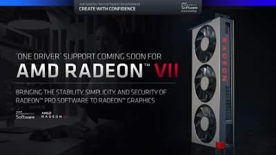 AMD разблокирует профессиональные функции на Radeon VII