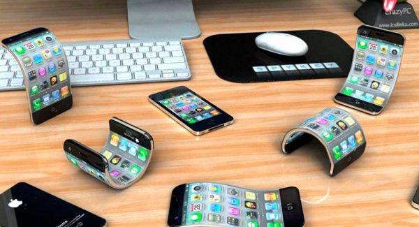 В планах Apple новый гаджет – гибкий смартфон с подогревом