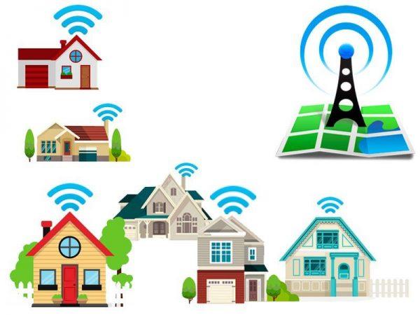 Подключение к беспроводному интернету в частном доме